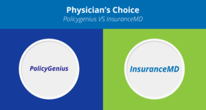 PolicyGenius vs InsuranceMD | The best place to get Own Specialty Disability Insurance